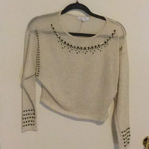 Delia's: blouse very sparking and glitter